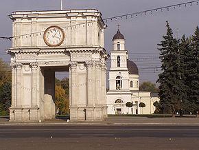 Chișinău. Ansamblul catedralei