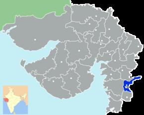 Kart over Tapi