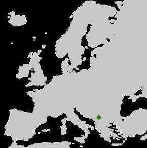 Poloha Kosova