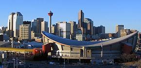 Vedere panoramică spre Calgary