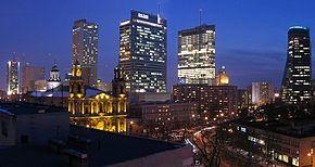 Centrul modern al Varșoviei