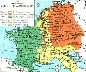 Localizare a Franciei Occidentalee