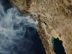 2007年10月加州山火