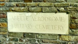 Abeele Aerodrome Military Commonwealth War Graves Commission cemetery