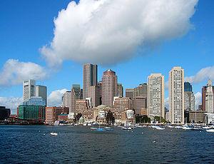 波士頓的天際線