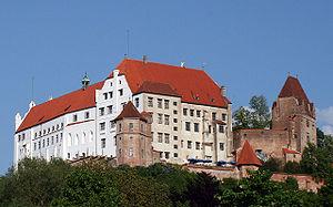 Burg Trausnitz, Westansicht (2009)