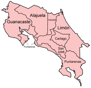 Provincie Kostariky
