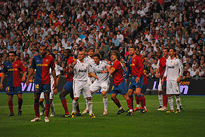 Forcejeo Real Madrid - FC Barcelona.jpg