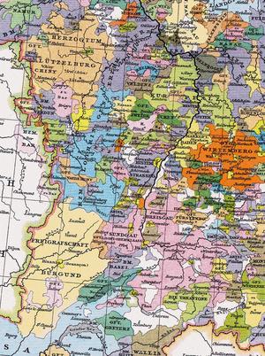 Localizare a Ducatului Lorena
