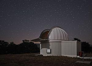 LCOGT 80cm telescope enclosure at Sedgwick Reserve