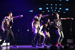 MBLAQ在Cyworld Dream Music Festival演出,2011年7月23日