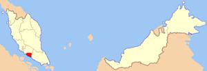 马六甲的位置