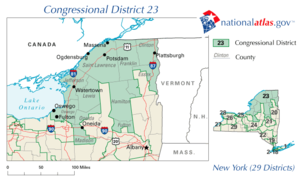 New York District 23 109th US Congress.png