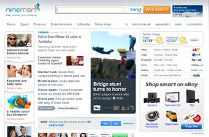 ninemsn Homepage