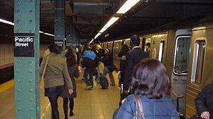 Pacific Street NYC Subway by David Shankbone.JPG