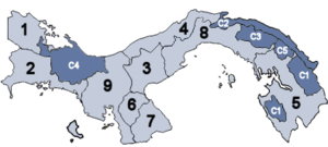 Provincie Panamy