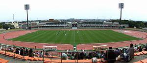 Panoramablick über das Stadion