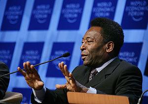 Pele - World Economic Forum Annual Meeting Davos 2006.jpg