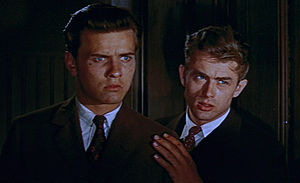 Richard Davalos and James Dean in East of Eden trailer.jpg