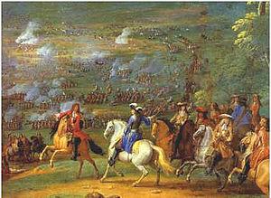 Vévoda d'Enghien v bitvě