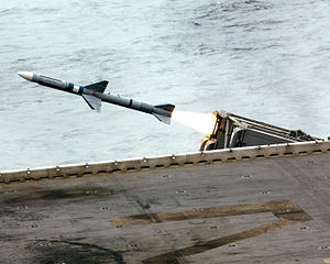 Sea Sparrow surface-to-air missile launch.jpg