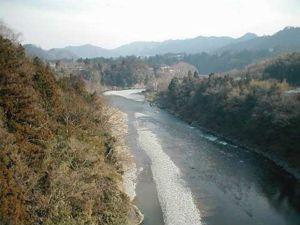 多摩川(2002年3月)