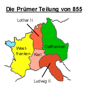 Localizare a Lotharingiei
