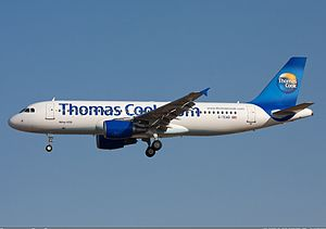 Airbus A320-200 der Thomas Cook Airlines