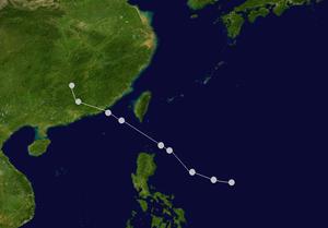 颱風路徑圖
