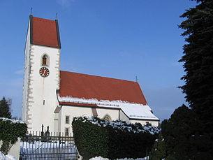 Pasching, gotische Pfarrkirche
