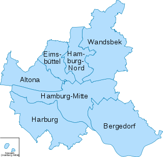 Hamburg Bezirke.svg