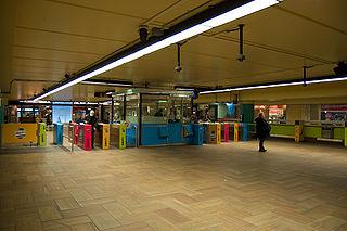 麥基爾站的出口