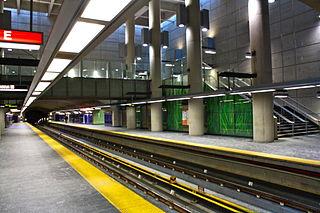 協和站月台