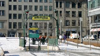 維多利亞廣場站的出入口