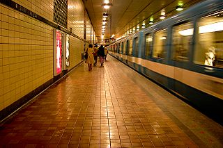 聖洛康站的月台