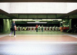 安諾希·波格朗站的大堂