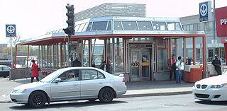 柏民頓站的外部
