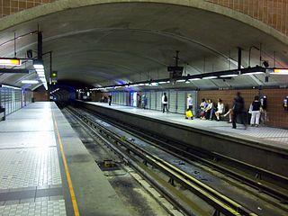 聖米歇爾站的月台