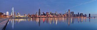 芝加哥的天际线的天際線