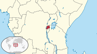 Rwanda in its region.svg