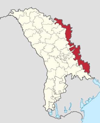 Transnistria in Moldova (de-jure).svg