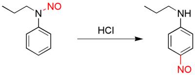 Fischer-Hepp rearrangement