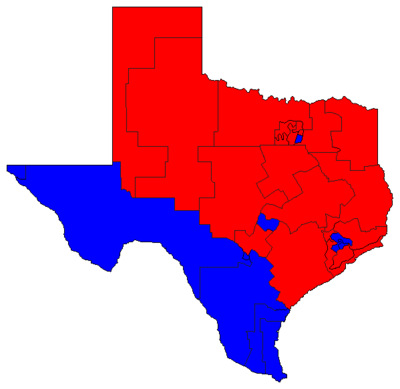 Senate composition during 80th Legislature
