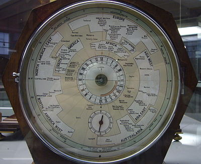 The Willis World Clock, in the London Science Museum