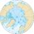 Mapa Severního ledového oceánu