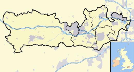 伯克郡在伯克郡的位置