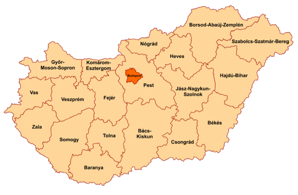 Counties of Hungary 2006.png