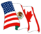 Emblem der NAFTA-Staaten