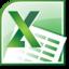 Microsoft Excel 2010 圖示