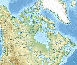 (Voir situation sur carte: Canada)